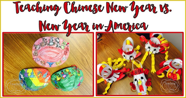 Teaching Chinese New Year vs. New Year in America