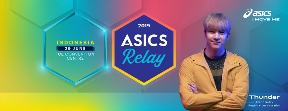 Thunder Asics Relay Indonesia 2019