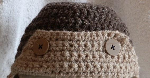 Crochet Baby Hat Pattern Aviator Hat Perfect For Boys Free Crochet