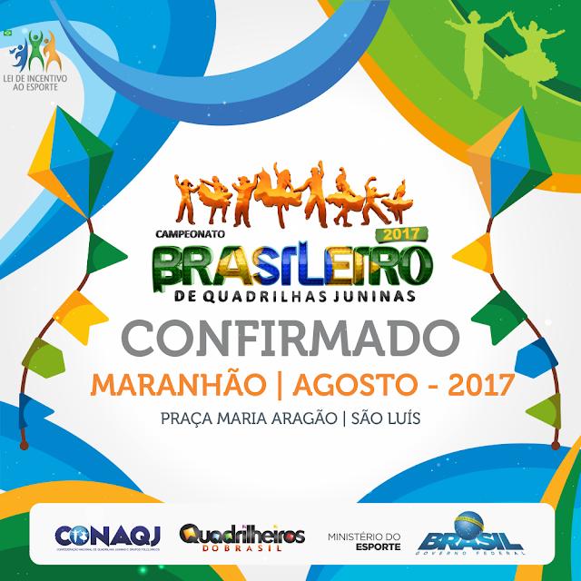 Campeonato Brasileiro de Quadrilhas Juninas acontece em Julho no Rio de Janeiro.
