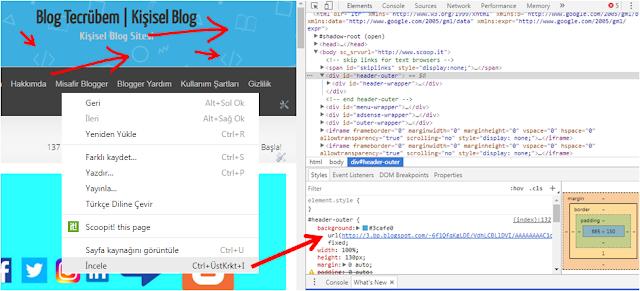Blogger'da her hangi bir görselin URL'sini nasıl alırız?