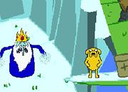 Hora de aventura Jake y Finn vs Ice King juego
