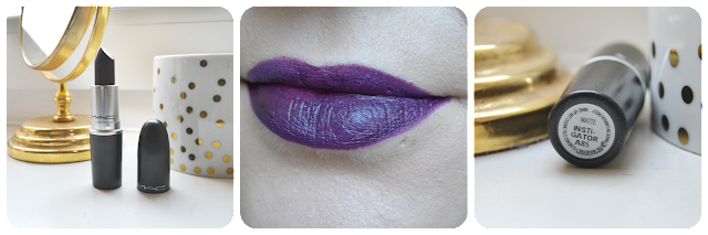 Mac, Mac Cosmetics, Swatch, Swatches, Instigator, Lipstick, Matte, Lipswatch