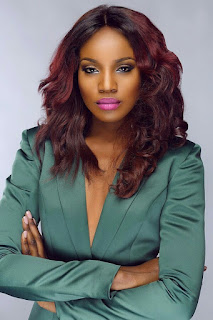 Image result for seyi shay reacts to her fall on stage