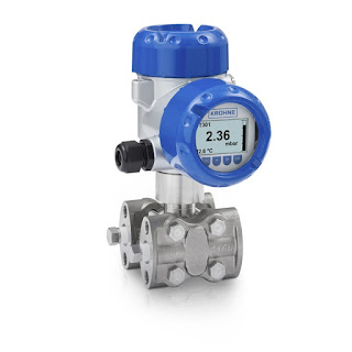 differential pressure transmitter for industrial process control