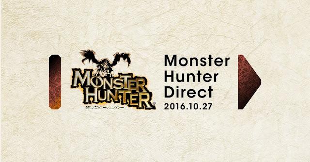 Habrá un Nintendo Direct dedicado a Monster Hunter este mismo jueves