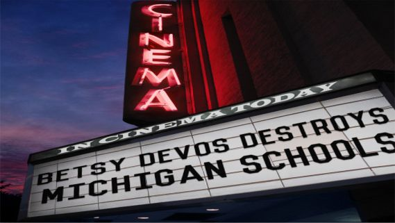 Image result for big education ape DeVos michigan schools