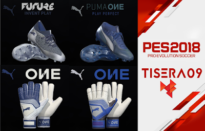 PES 2019 / PES 2018 Puma ONE Stun Pack by Tisera09