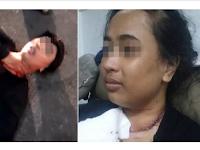 Suami Diburu Polis Lepas Kelar Leher dan T1kam Belakang Isteri Berkali-kali Dengan Pis4u Sayur
