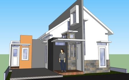 kumpulan desain rumah sederhana modern 2013