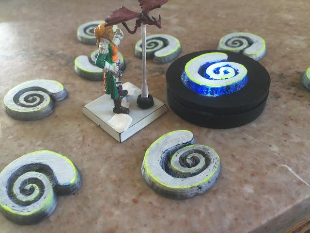 Pharasma holy symbol; Pathfinder tokens; 3D printing symbols; Pharasma