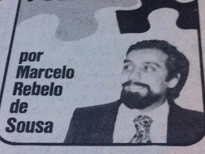 1979: Quando Marcelo se marimbava para o SNS