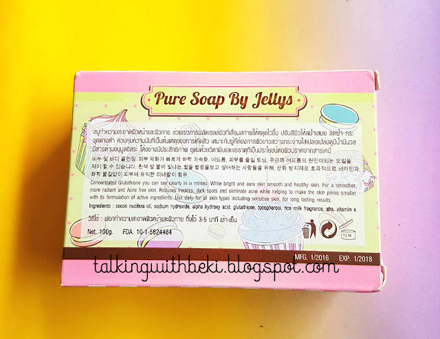 Sabun Pure Soap by Jellys