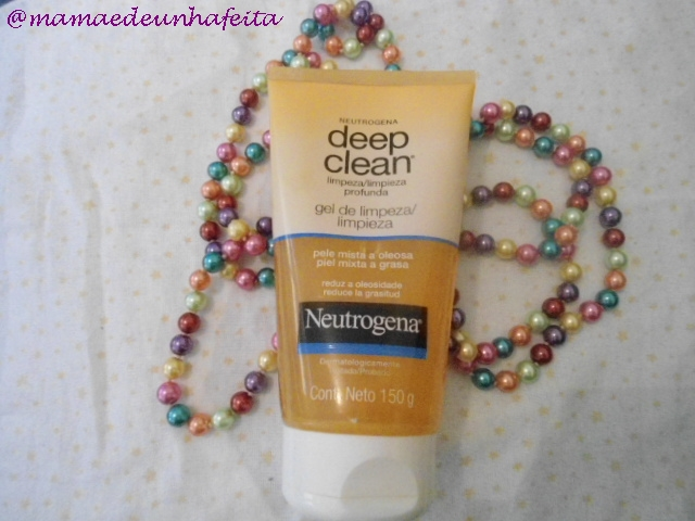 Deep Clean gel de limpeza Neutrogena
