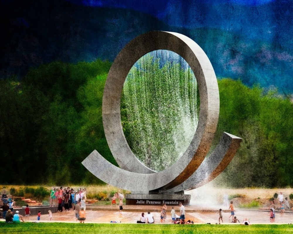 18 Amazing Fountains From All Over The World That Are Real Works Of Art - Julie Penrose Fountain, City of Colorado
