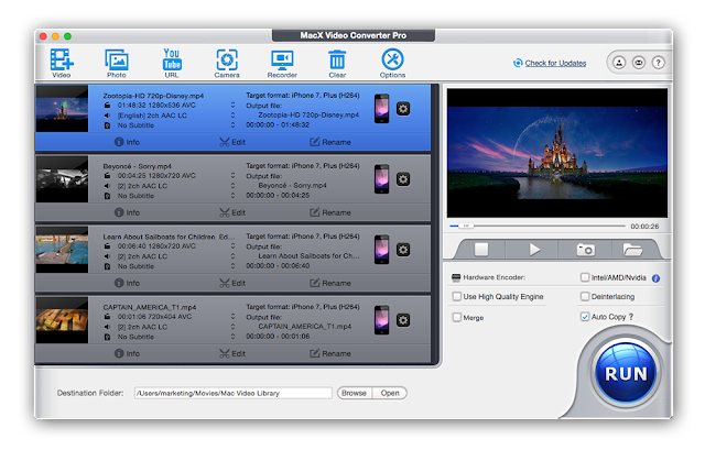 Saftware MacX Video Converter Pro