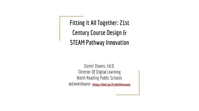 Fitting It All Together: 21st Century Course Design & STEAM Pathway Innovation