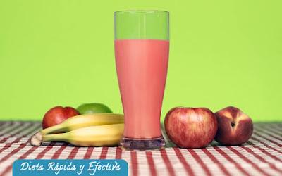 Batido de manzana para adelgazar y un vientre plano