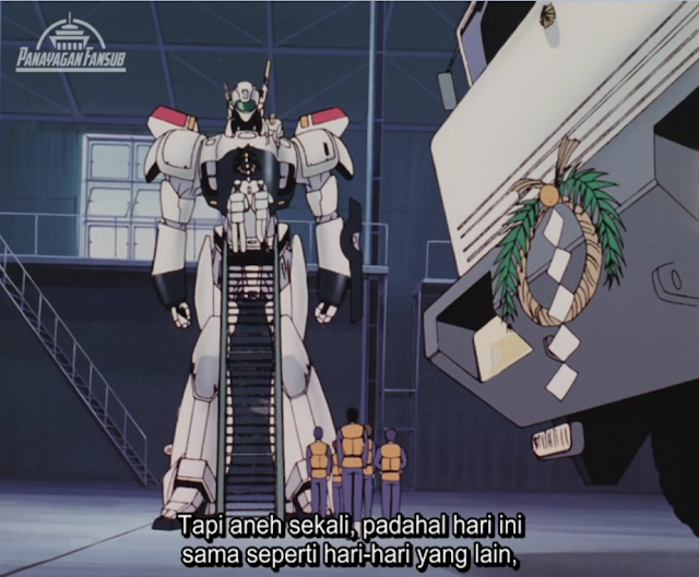 Download Mobile Police Patlabor OVA 2 : The New Files Episode 02 Subtitle Indonesia Sub Indo