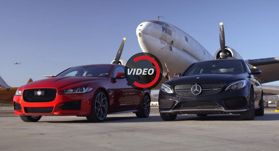 Mercedes Amg And Jaguar Xe Fight For The Title Of The