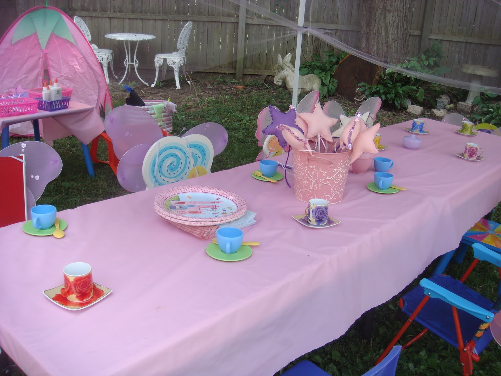 Crafts&Parties: Fairy Party Decorations