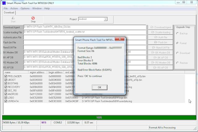 MT6516 flashing tutorial | Download