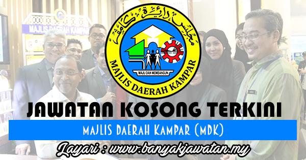 Jawatan Kosong 2017 di Majlis Daerah Kampar (MDK) www.banyakjawatan.my