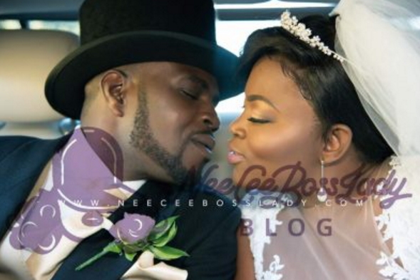 funke akindele private wedding album
