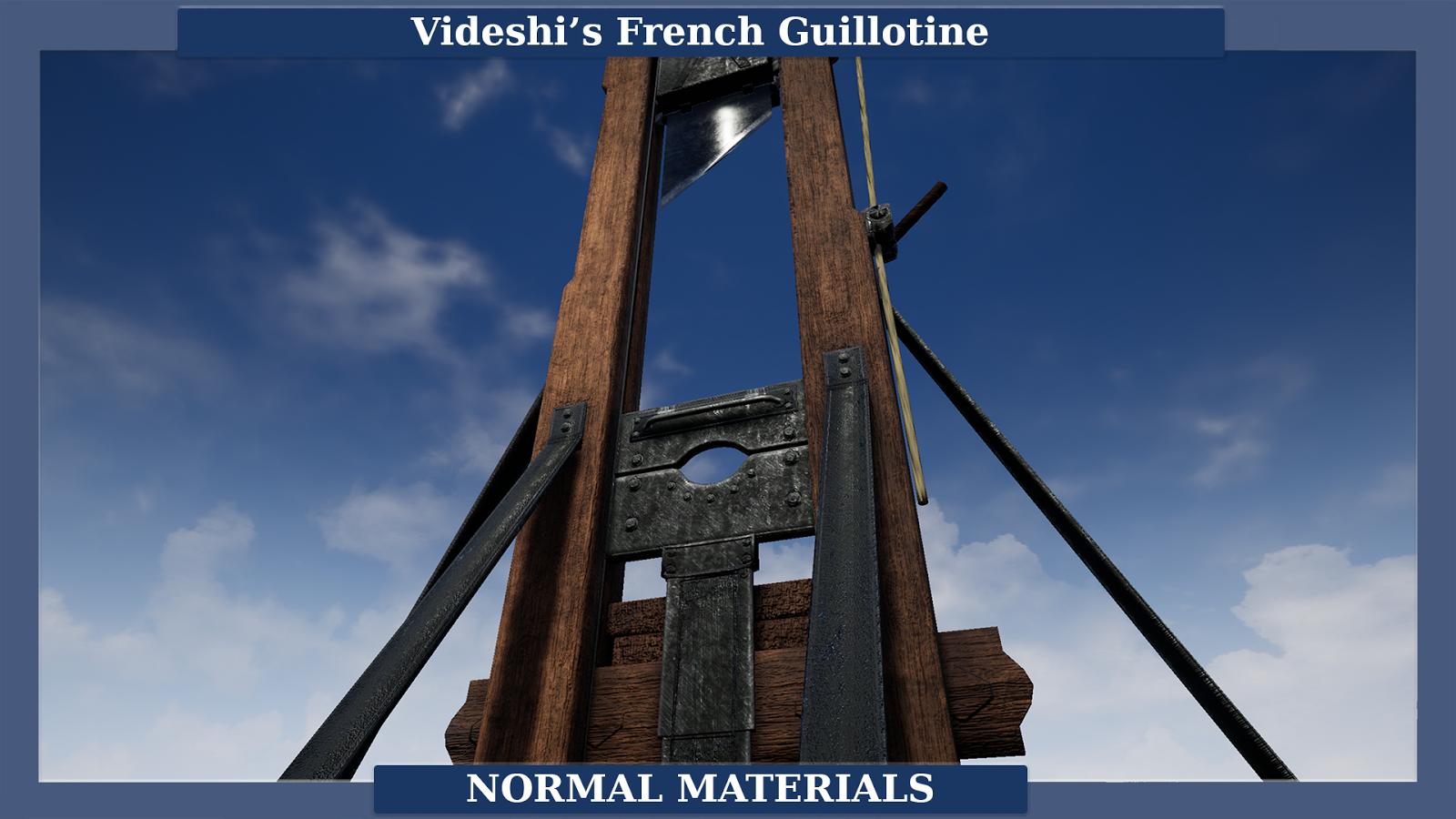 New Unreal Marketplace Asset: Videshi's Guillotine