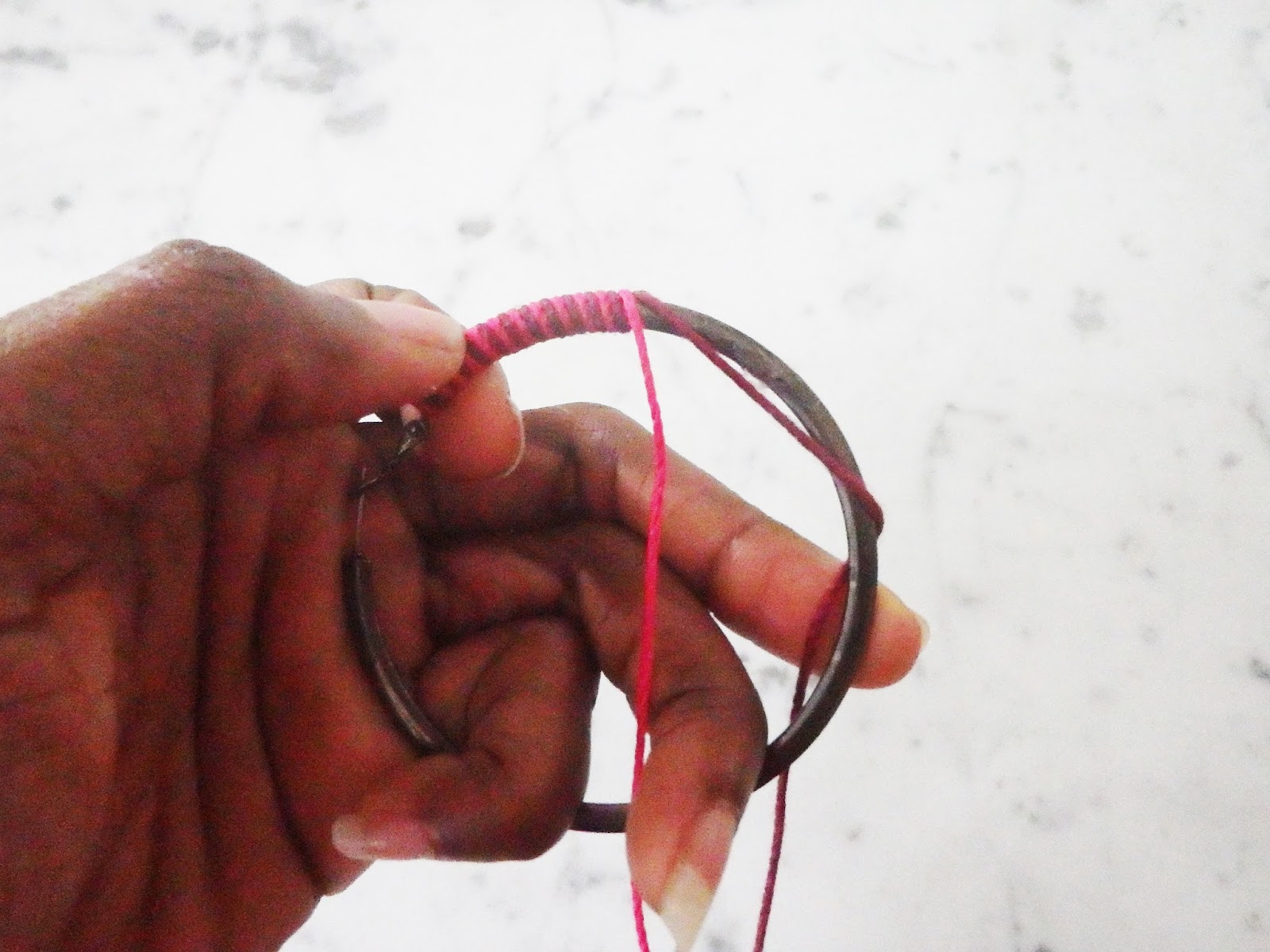 DIY Hoop Earrings