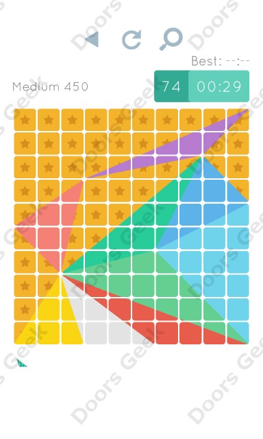 Cheats, Walkthrough for Blocks and Shapes Medium Level 450