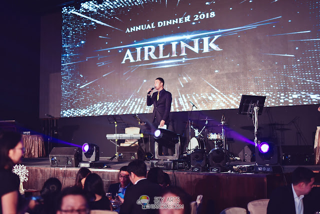 Airlink Annual Dinner 2018 at Chuai Heng Banquet Hall KL Owen Yap emcee