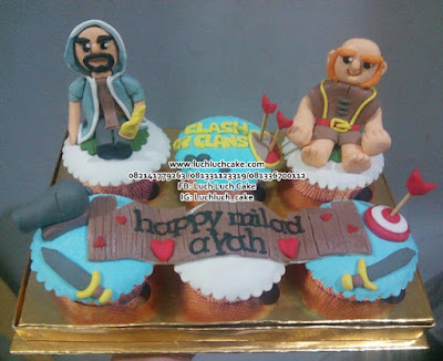 Cupcake Clash Of Clans Surabaya - Sidoarjo