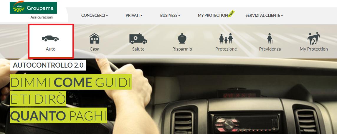 servizi telematici autocontrollo 2.0. avviso batteria veicolo