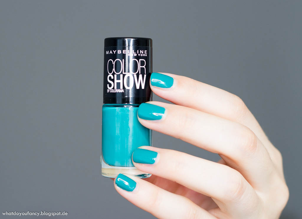 Maybelline Color Show Urban Turquoise Nagellack
