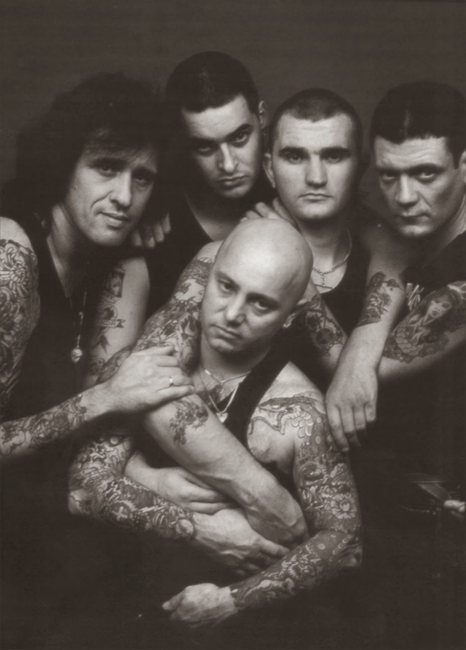Rock On Vinyl: Rose Tattoo - All The Lessons: Live Reading