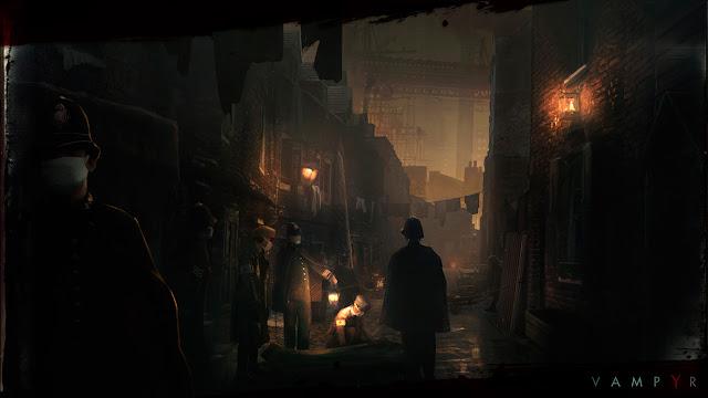 استعراض لعبة فامبير Vampyr 2017 مصاصي الدماء
