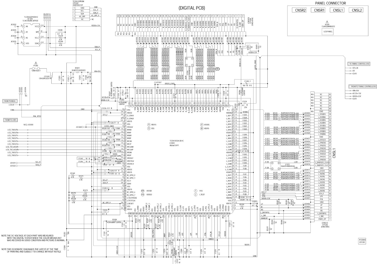 Schematic Tv Lcd Auto Electrical Wiring Diagram Dvd Power Supply Circuit Powersupplycircuit