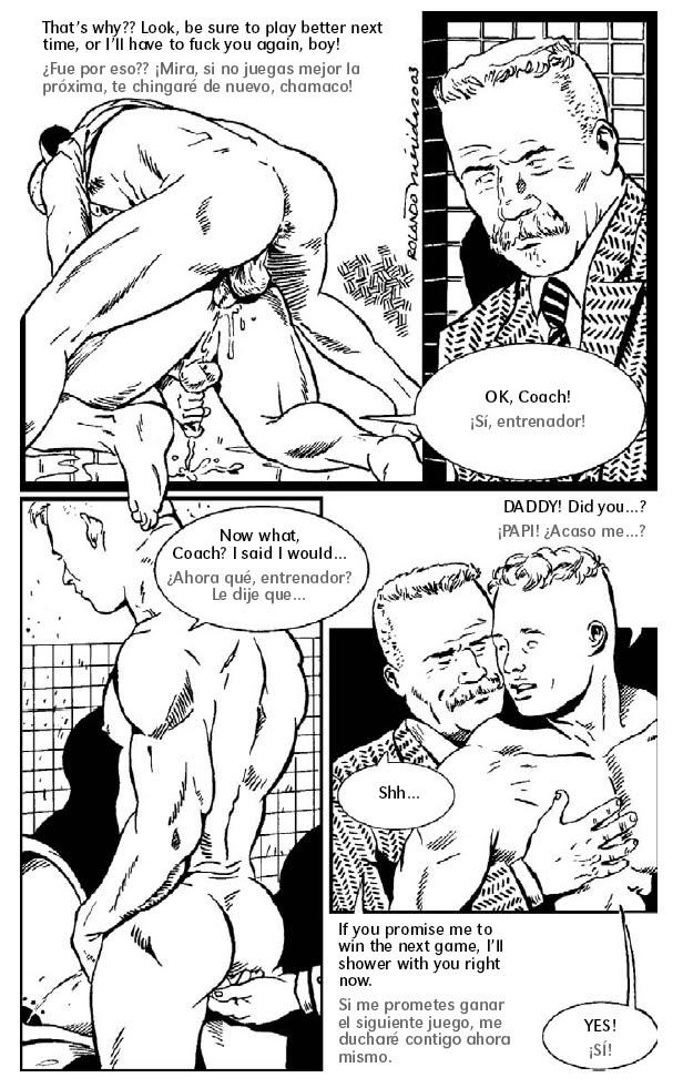 bruce gay erotic comics