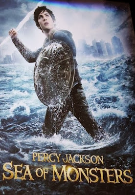 Poster Of Hollywood Film Percy Jackson Sea of Monsters (2013) In 300MB Compressed Size PC Movie Free Download At worldfree4u.com