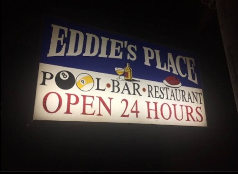 Eddie's Place Pool Bar and Restaurant Sabang Beach Puerto Galera