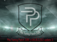 Update Patch PES 2018 Terbaru dari Tuning Patch V1.04.01.3.00.1 update 3