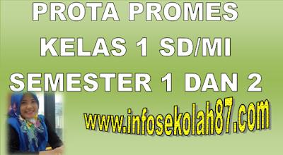 Prota Promes Kelas 1 SD/MI Semester 1 Dan 2 KTSP