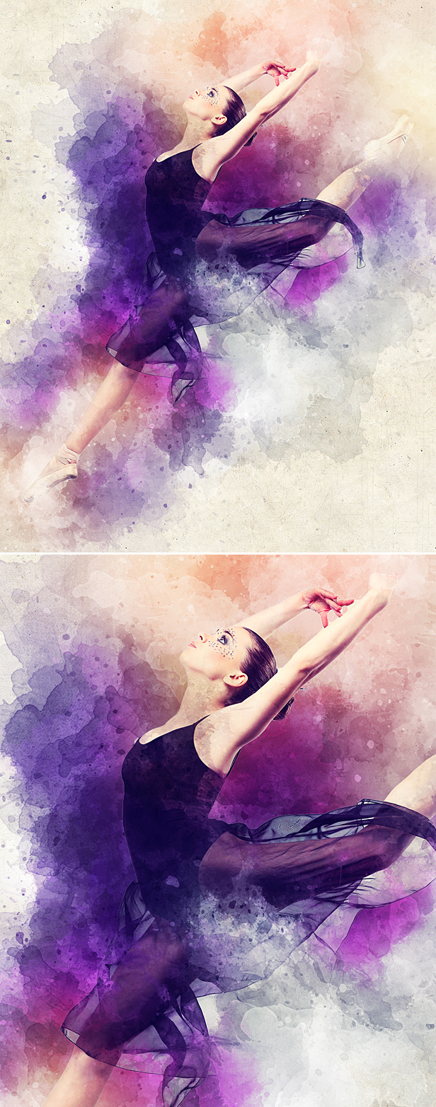 Watercolor Animation Photoshop Action - 10