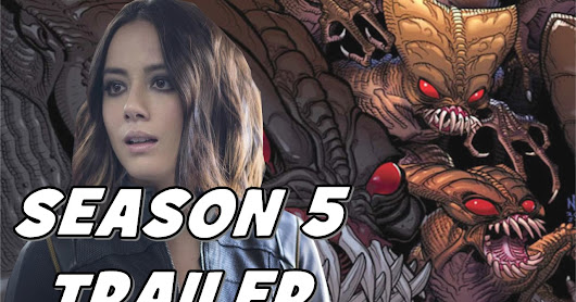 New Characters!! The Brood!! The Kree!! - Agents of SHIELD Season 5 Trailer Breakdown!!!