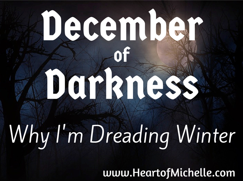 A mom describes the miserable winters when her daughter bipolar sleep patterns get worse. #kidswithbipolar #bipolardisorder www.HeartofMichelle.com