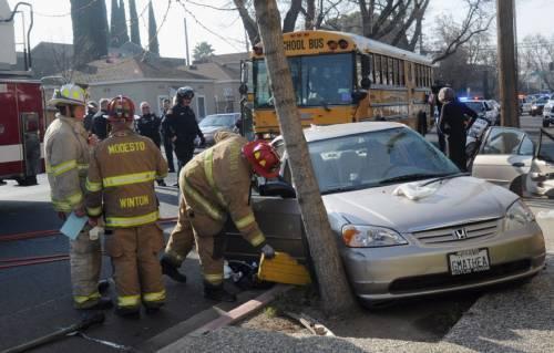 Fresno Visalia Bakersfield Accidents: Modesto Crash