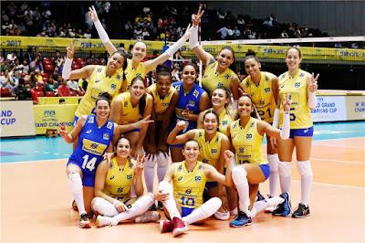 seleção brasileira vôlei feminino Rússia