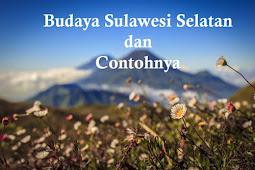 10+ Budaya Sulawesi Selatan dan Contoh Lengkapnya