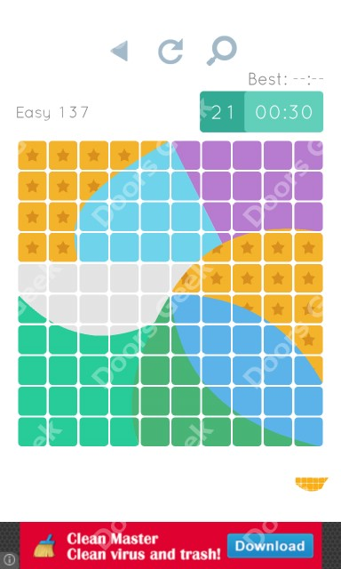 Cheats, Walkthrough for Blocks and Shapes Level 137